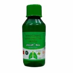Jincoff Neo Syrup, Packaging Size: 100 Ml