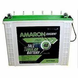 Amaron Tall Tubular Battery, Warranty: 4 years, 12 V