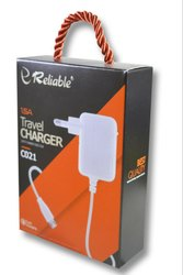 White RELIABLE 1.5 Amp V8 Fast Charger C-021
