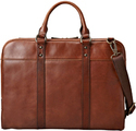 Leather Slim Laptop Bag