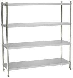 Aditya Steel Grey Portable Shelving System, Capacity: 100 - 500 Kg/Layer