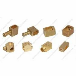 Rli-bpt Brass PCB Terminals, Natural, As Is 319(type 1)