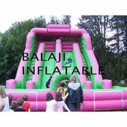 4 Lane Sliding Inflatable
