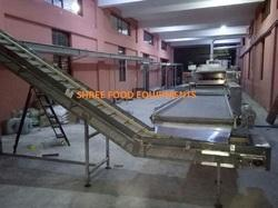 Flat Wire Mesh Belt Conveyor