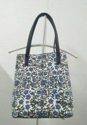 Womens Messenger Handbag Lady Shoulder Bag Hand Block Print Fashion Totes Purse