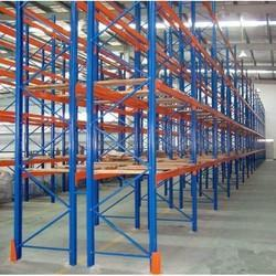 Mild Steel Storage Racks Heavy Duty Beam Rack, For Warehouse