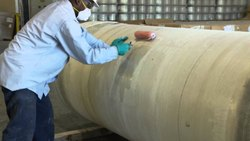 FRP Pipe Lining Works, for Industrial