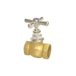 Brass Flush Cock, Handle Type: Cross, Size: 25MM