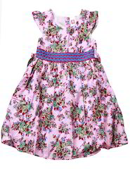 Kid's Floral's Print Frock