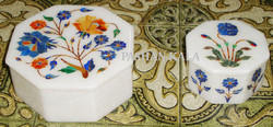 Inlay Marble Jewelry Boxes