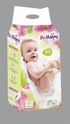 Be Happy Baby Diaper, 5 Pieces