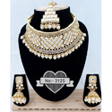 Wedding Dulhan Necklace Set, Packaging Type: Box