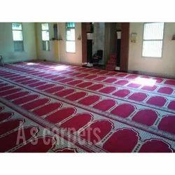 Acrylic,Viscose Masjid Prayer Carpet, For Mosque