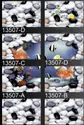 10x15 Stone With Fish Design Wall Tiles, Thickness: 5-10 Mm