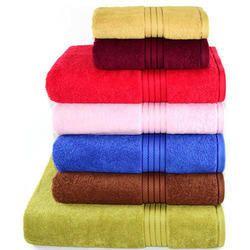 Dobby Checks Design Hotel Bath Towels