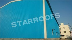 Commercial Roofing Sheds