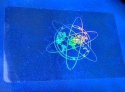Custom Design Secure Holographic Overlay