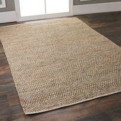 Brown Rectangular Floor Carpet