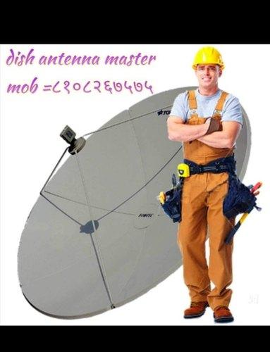 D D FREE Dish Antenna Installation in Mulund West, Mumbai, Dish