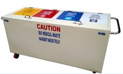 Bio Medical Waste Collection Trolley