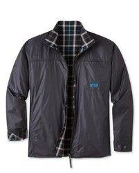 Black Full Sleeve Mens Reversible Jackets, Hooded(Y/N): No