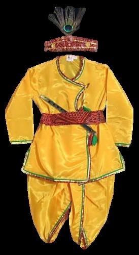 b9d3a7eab Yellow & Red Boys And Male/ Boys Kurta & Dhoti Dress Kid, Rs 350 ...
