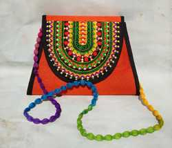 Ladies Embroidered Shoulder Bag