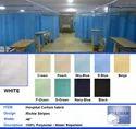 Jacquard Flower Hospital Cubical Curtains