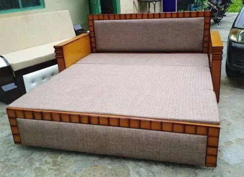 Marvelous Wooden Sofa Cum Bad Interior Design Ideas Skatsoteloinfo