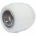 Pronier White Fork Lifter Nylon Wheels