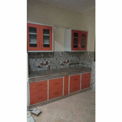 Stainless Steel Steel Straight Modular Kitchen