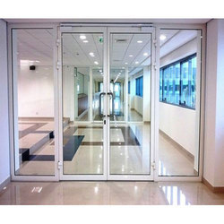 glass door