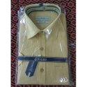 Mens Cotton Linen Plain Shirt