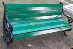Wrough Iron Garden Bench