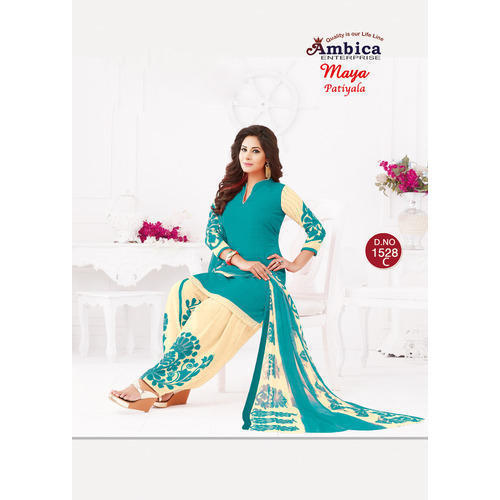 7814adc7ab Unstitched Ladies Printed Casual Wear Salwar Suit, Rs 300 /piece ...