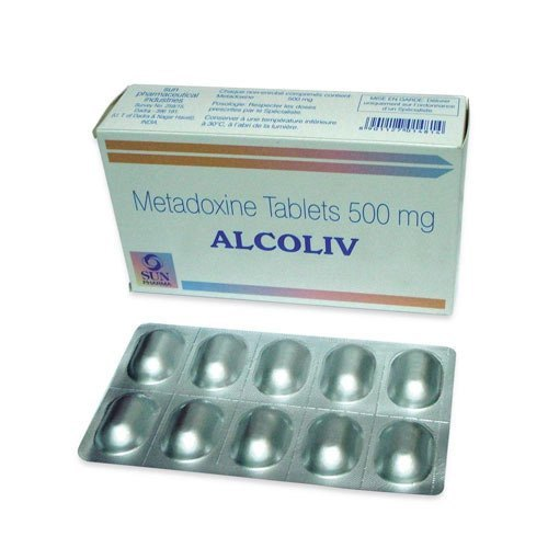 500 MG Metadoxine Tablets