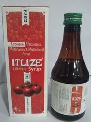 Lycopene Antioxidants, Multivitamin and Multimineral Syrup