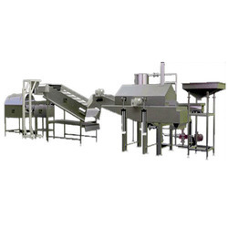 Pellets Fryums Frying System