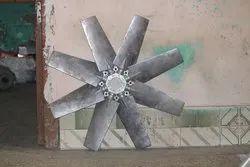 Aluminum Impeller 6 Blade Dia 900 mm