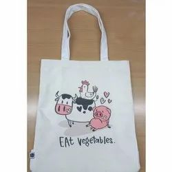 Printed Cotton Canvas Bag