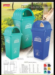 Aristo Dust Bin with Dome Lid 60 L
