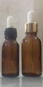 20 ml Amber Essential Oil Dropper Glass Bottle