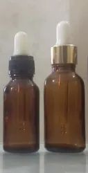 20 ml Amber Essential Oil Dropper Glass Bottle