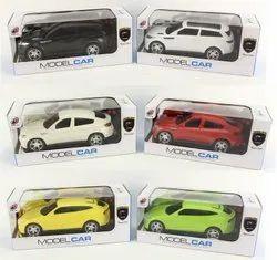 Colour Mix Plastic Model Car 2 Functional
