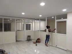 Aluminium Fixed Partition