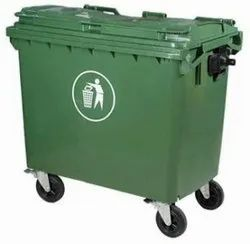 1100 Liter Wheeled Trolley Dustbin