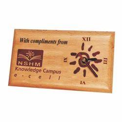 Analogue 1055SM Wooden Clock
