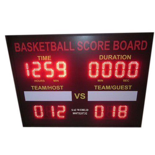 Metal Hanging LED Basketball Score Board, For Outdoor