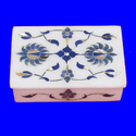 Inlay Work Square Shape Jewelry Box
