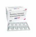 Aceclofenac 100mg, Paracetamol 325mg, Serratiopeptidase 15mg